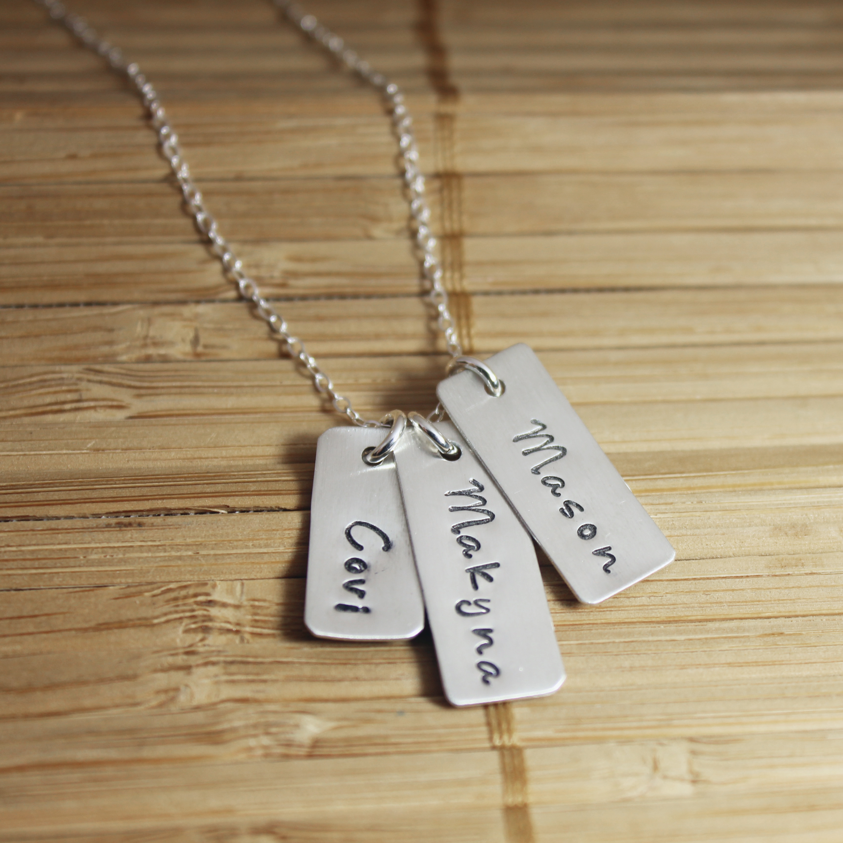 infinity family item four necklace from personalized names mother pendant custom in necklaces